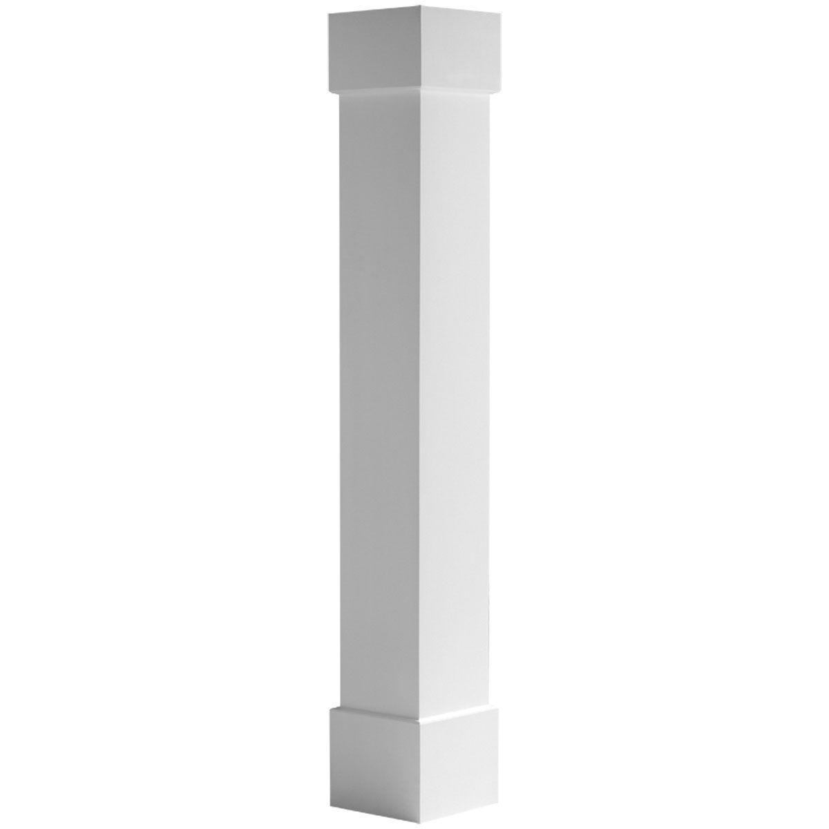 Endura-Craft Square Non-Tapered, Smooth Column