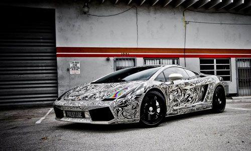 The Sharpie Lamborghini Gallardo