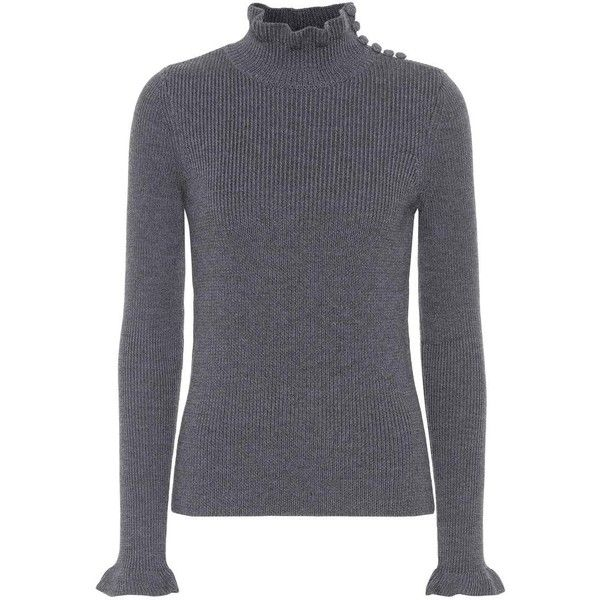 Best Deals Clearance Big Sale Wool turtleneck top Chloé Buy Cheap Websites Popular Looking For For Sale CodhEa