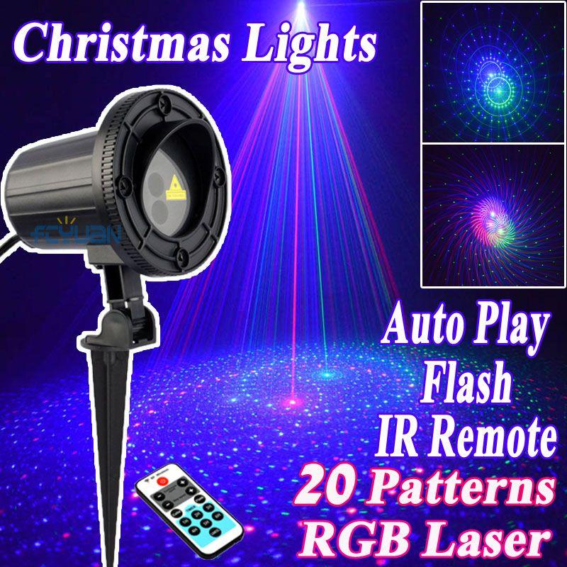 Luzes De Natal Ao Ar Livre à prova d\u0027 água IP65 RGB Chuveiros De