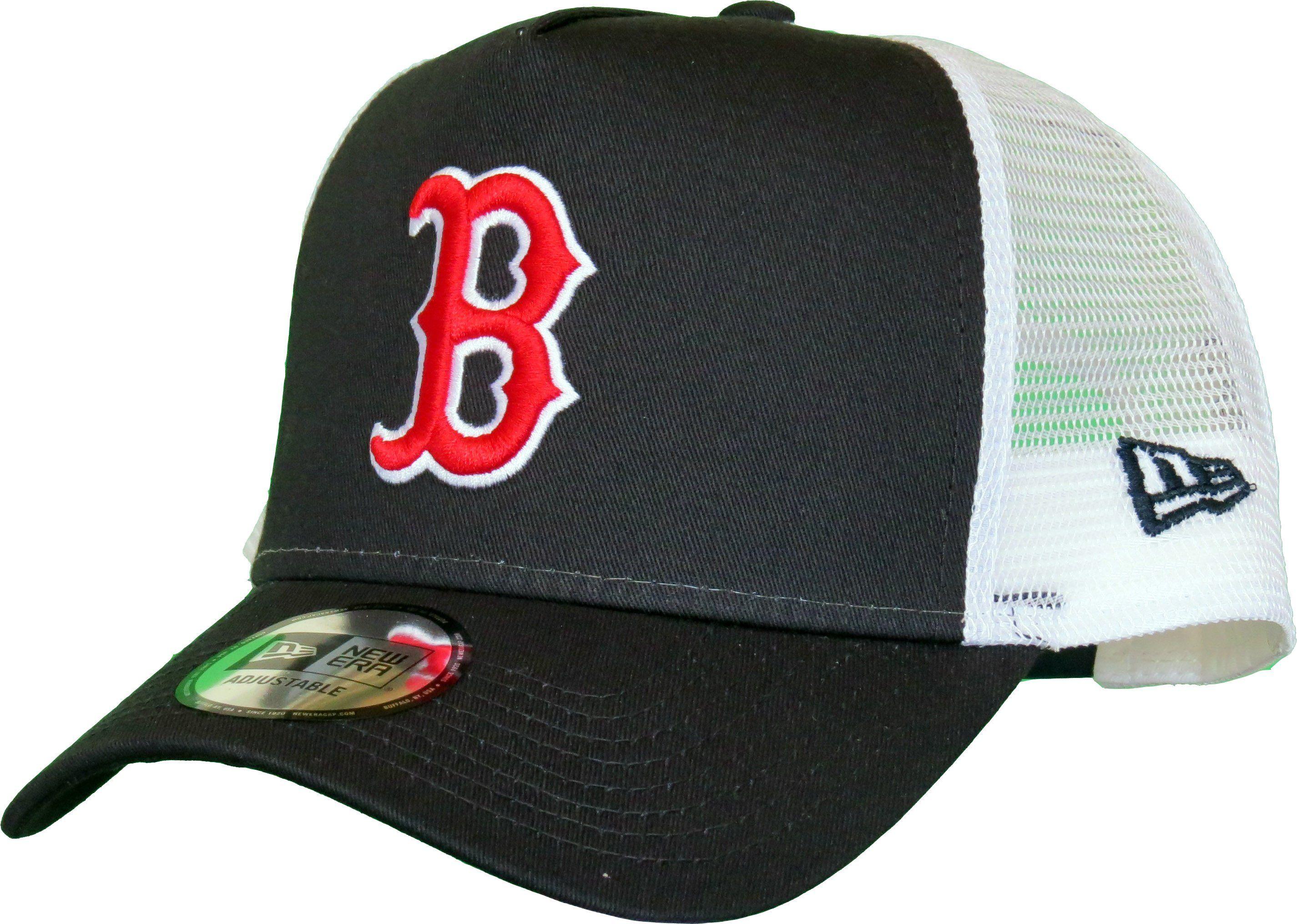 05bb622b9 Boston Red Sox New Era Team Essential Trucker Cap – lovemycap | MLB ...