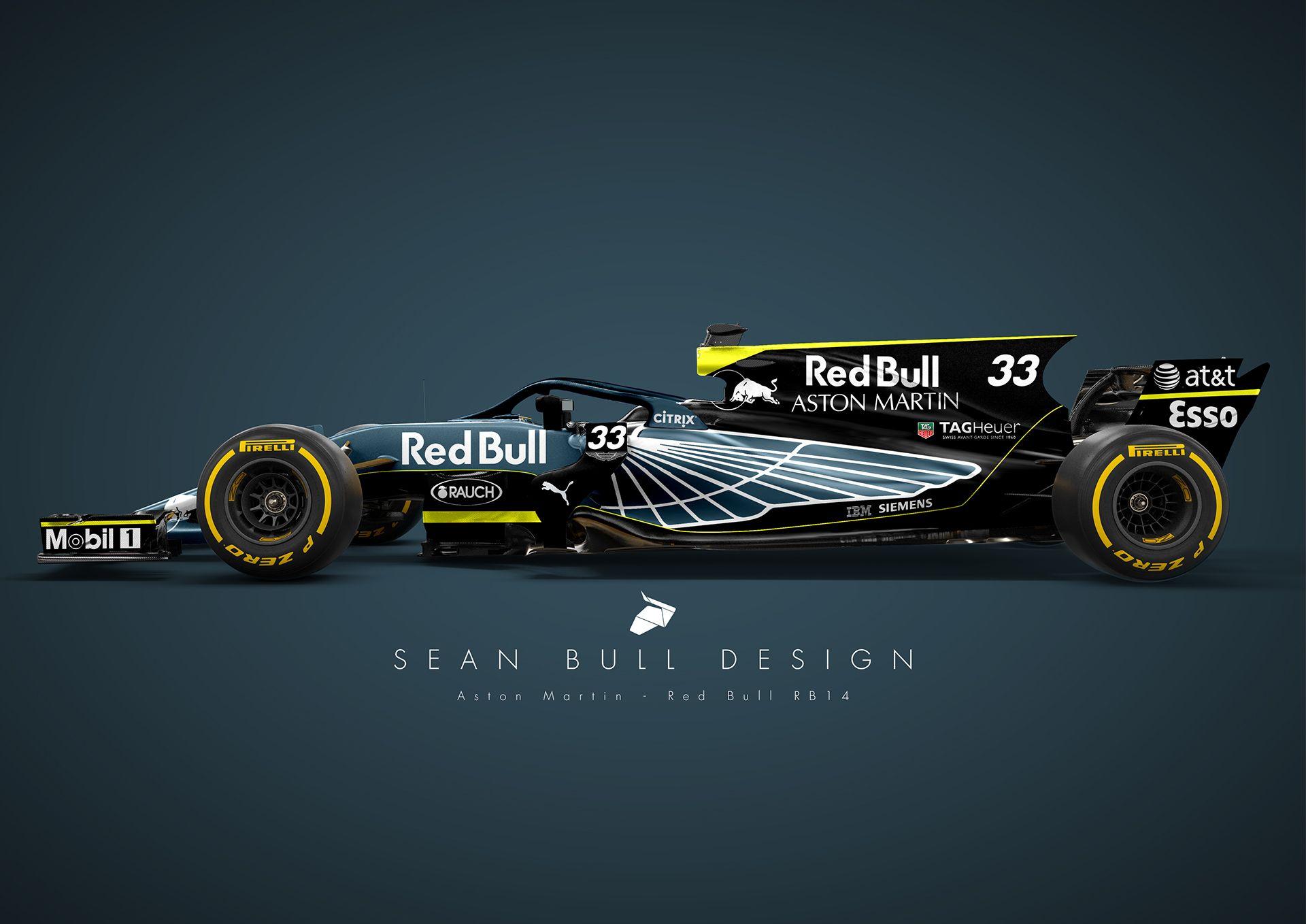 Image result for redbull aston martin F1 rear wing