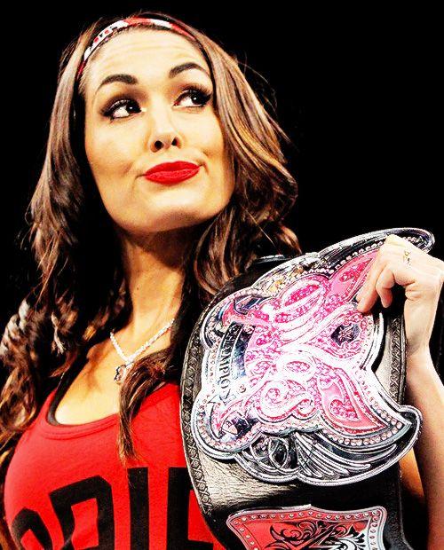 Nikki Bella - WWE Divas Champion, 2014 | Wrestling ...  Nikki Bella - W...
