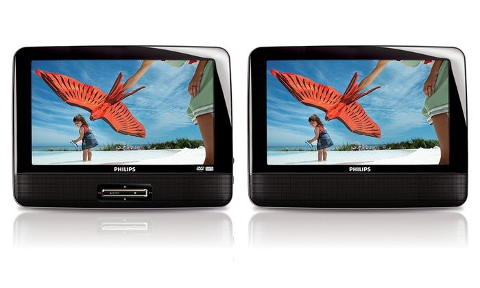 Philips 9 Dual Screen Portable Car Dvd Player Manufacturer
