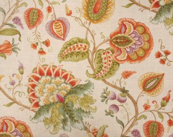 """Drapery Panel in Mill Creek Amaysa Apricot,  84"""" or 96"""" length"""