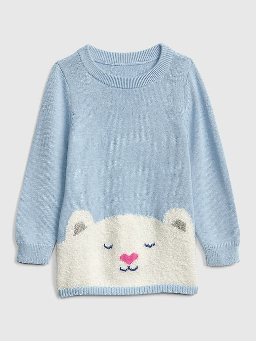 80da879c5 Gap Babies' Toddler Bear Graphic Sweater Polar Bear | Products ...