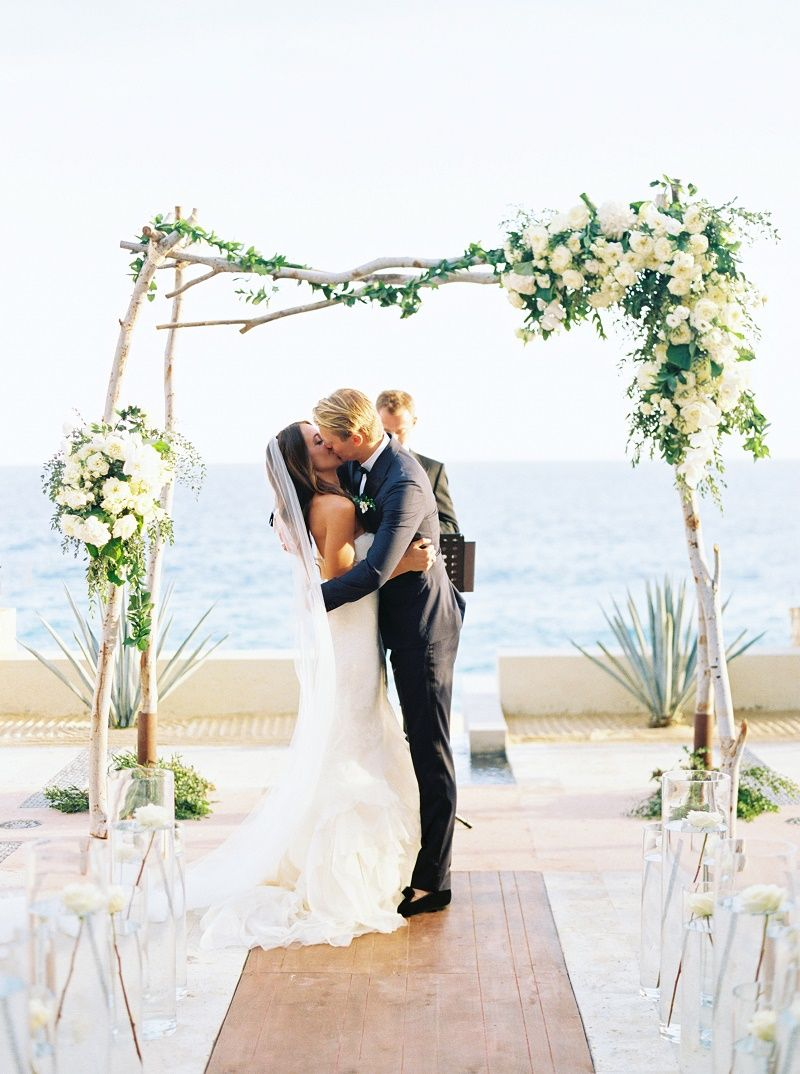 Kiss Wedding Ceremony Mexico Destination Weddings Resort At