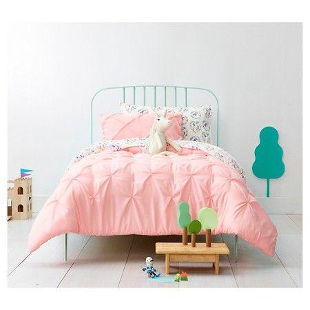 Pinch Pleat Comforter Set Pillowfort Comforter Sets Girls Comforter Sets Girl Comforters
