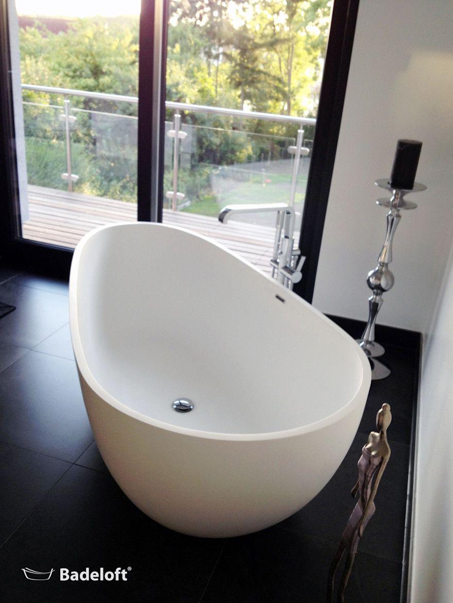 Luxuriose Freistehende Badewannen Fur Edle Badezimmer Von Badeloft Gmbh Hersteller Von Badewannen Und Waschbecken In Berlin Homify In 2020 Badezimmer Badewanne Freistehende Badewanne