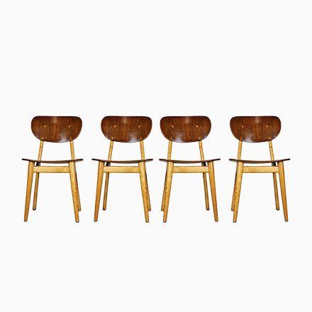 Combex Series SB11 Esszimmerstühle von Cees Braakman für Pastoe - esszimmer 1950