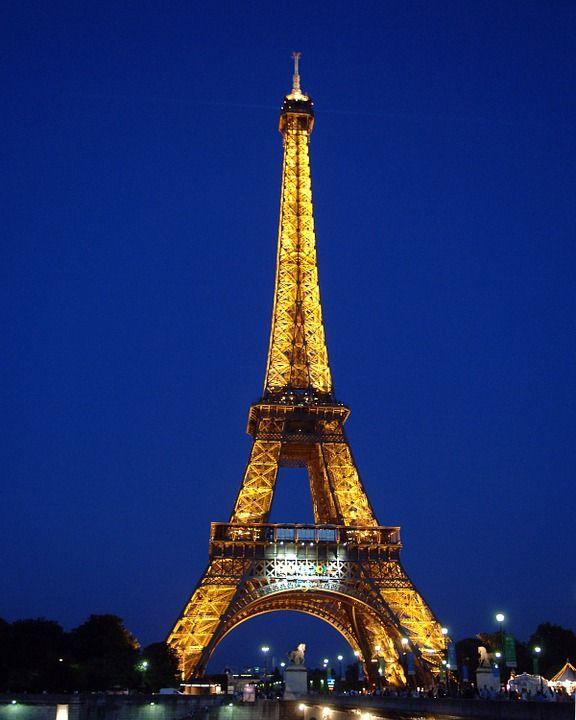 Eiffeltårnet, Paris, Frankrig, Eiffel, Arkitektur