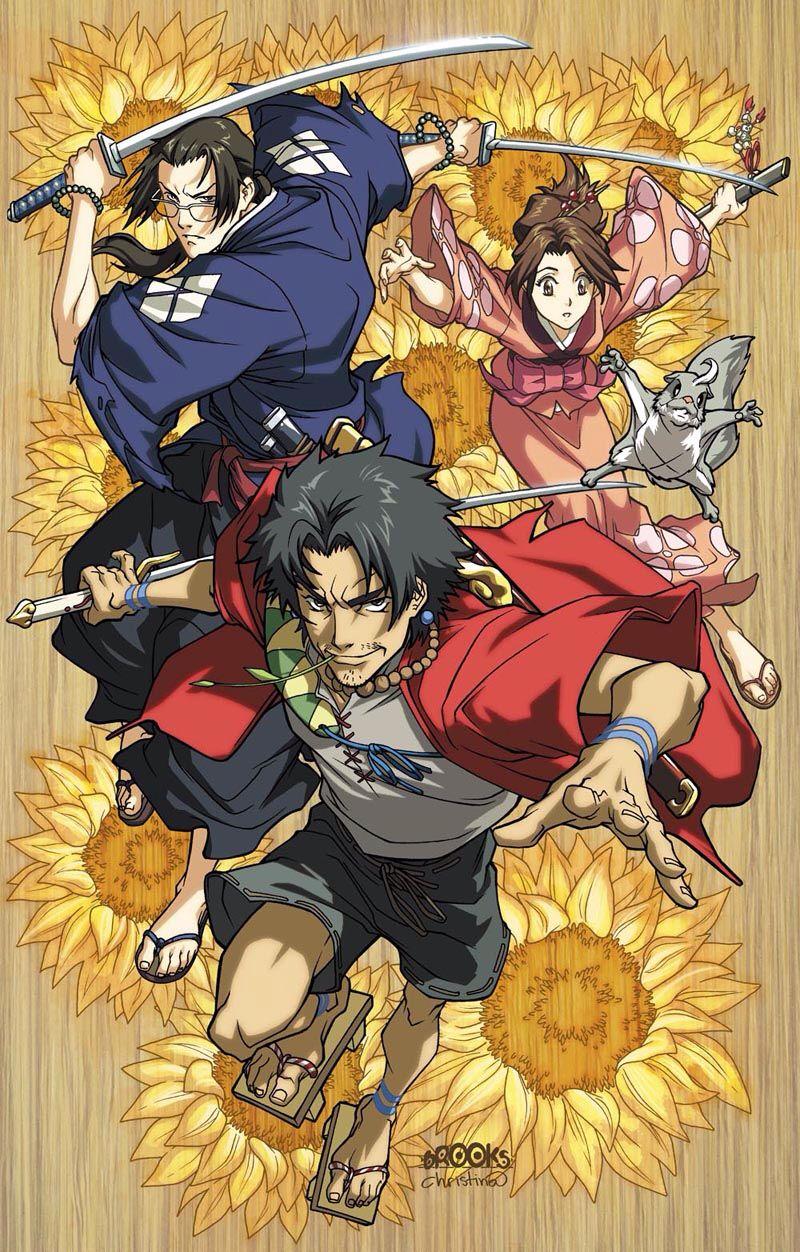 Pin By Fjssdmds On Samurai Champloo Samurai Anime Samurai Champloo Anime Canvas