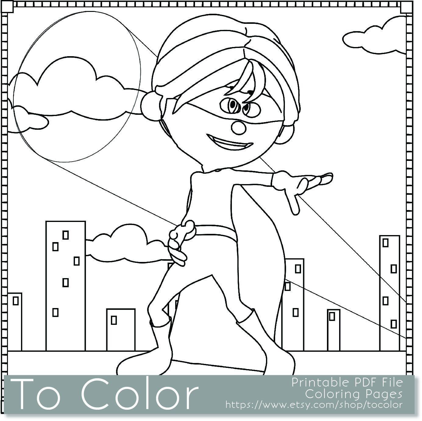 Awesome Coloring Pages For Kids Pdf 71 Printable Superhero Boy Coloring