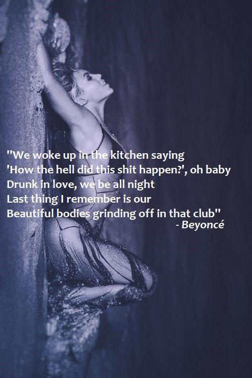 musica da beyonce drunk in love