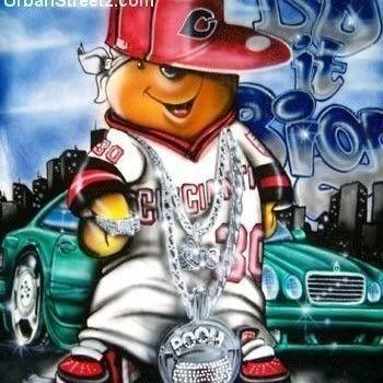 Gangster Pooh Jackdelubyo In 2019 Cartoon Wallpaper Winnie The