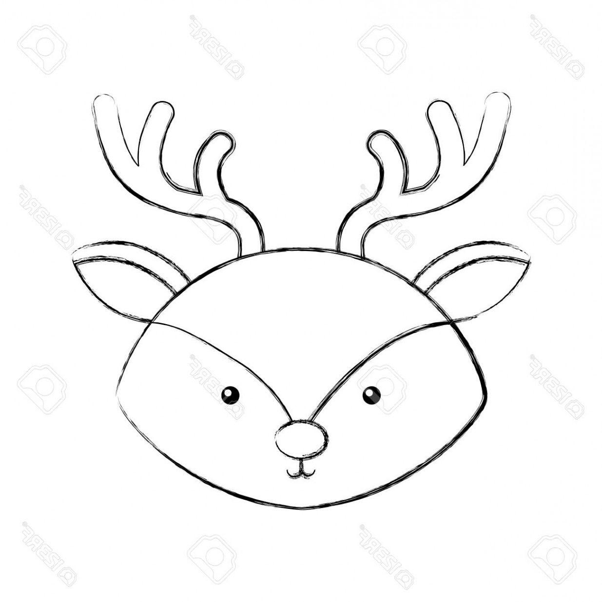 15 Cool De Renne Animal Dessin Photos Coloriage Dessin Renne Dessin Noel