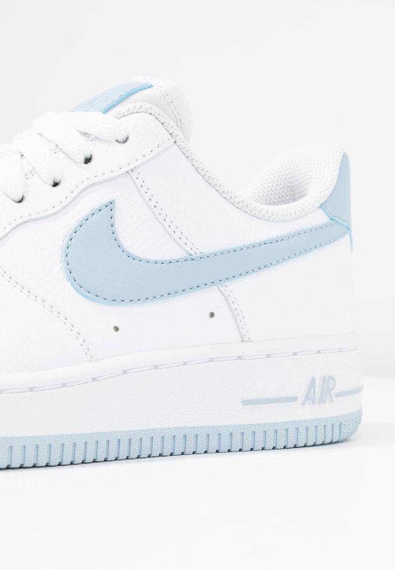 Nike Sportswear Air Force 1 07 Sneakers Laag White Light Armory Blue Wit Zalando Nl Luchtmacht Nike Sportkleding Sneaker