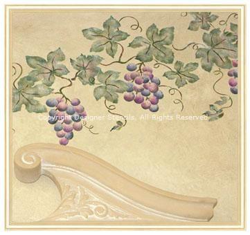 Contemporary Grape Wall Decor Model - Wall Art Collections ...