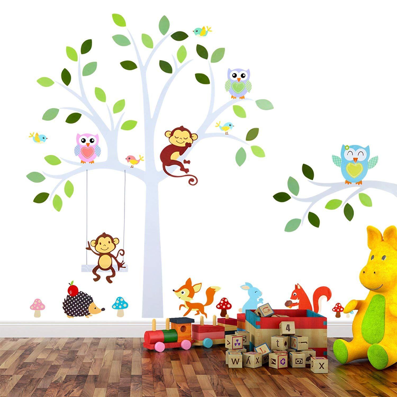 Wandsticker für Baby oder KinderZimmer; Motiv Baum mit
