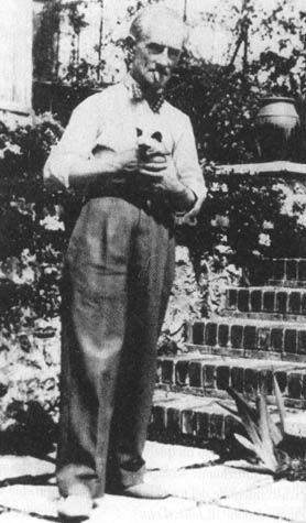 maurice ravel, French Impressionist composer, in my opinion better than Debussy, and cat lover.