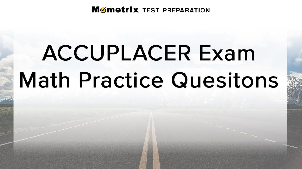 Pin on ACCUPLACER Study Guide