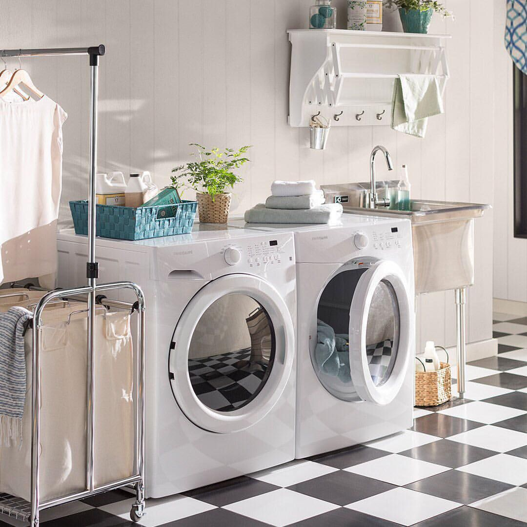 481 Likes 7 Comments Wayfair Wayfair On Instagram Can You Love A Laundry Room Yes Yes Laundry Room Diy Laundry Room Inspiration Laundry Room Storage