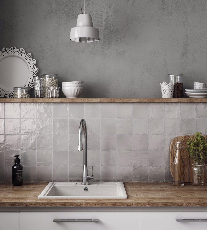 Mallorca Grey Ceramic Tile 4x4 - Sample