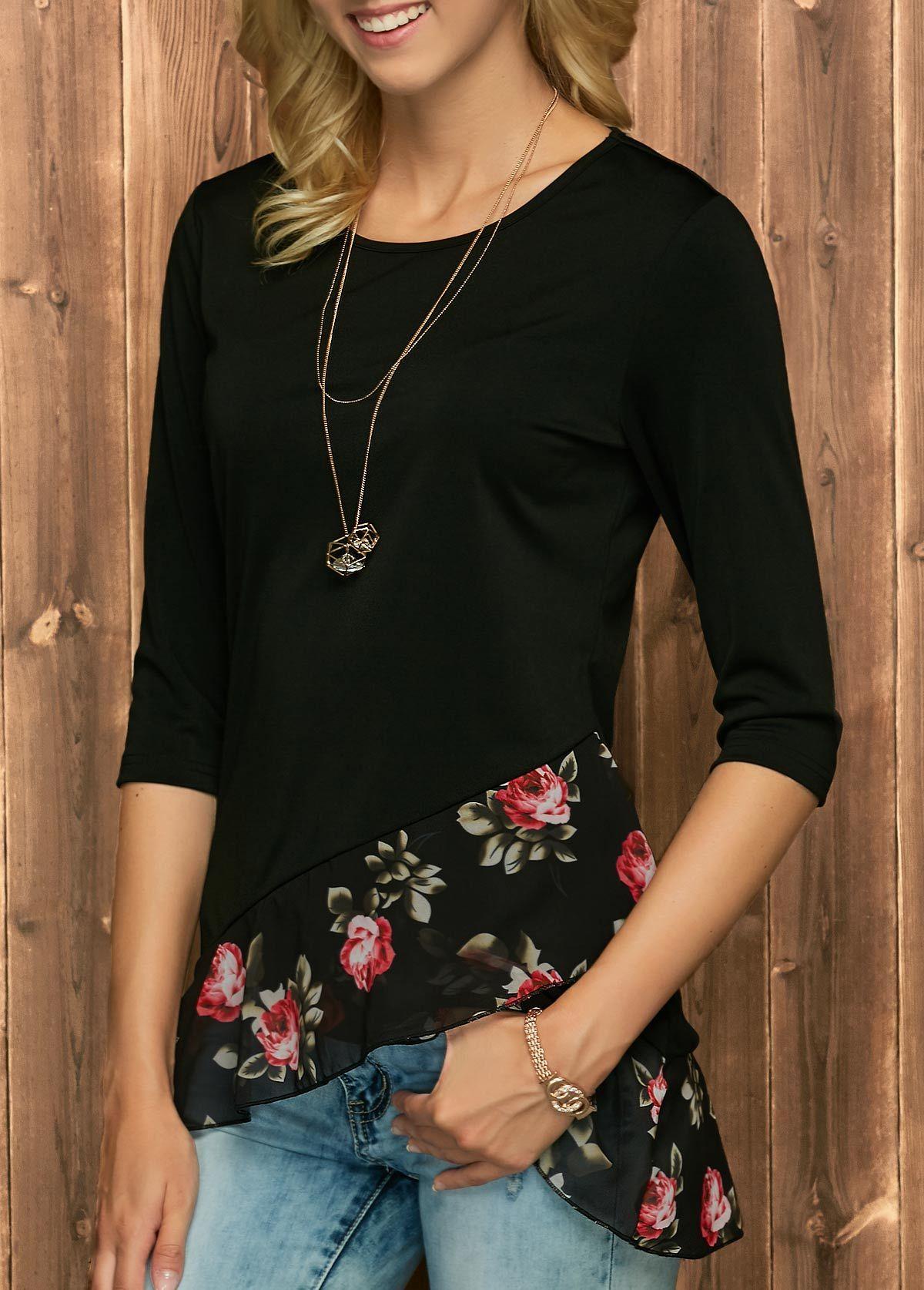 only zwarte blouse