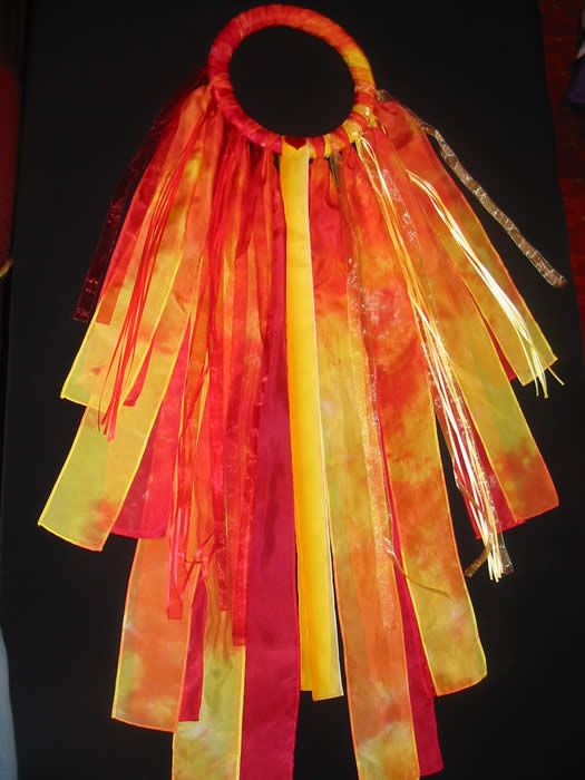 Pentecost Flame Ribbon Yess Make For Our Celebration This Year