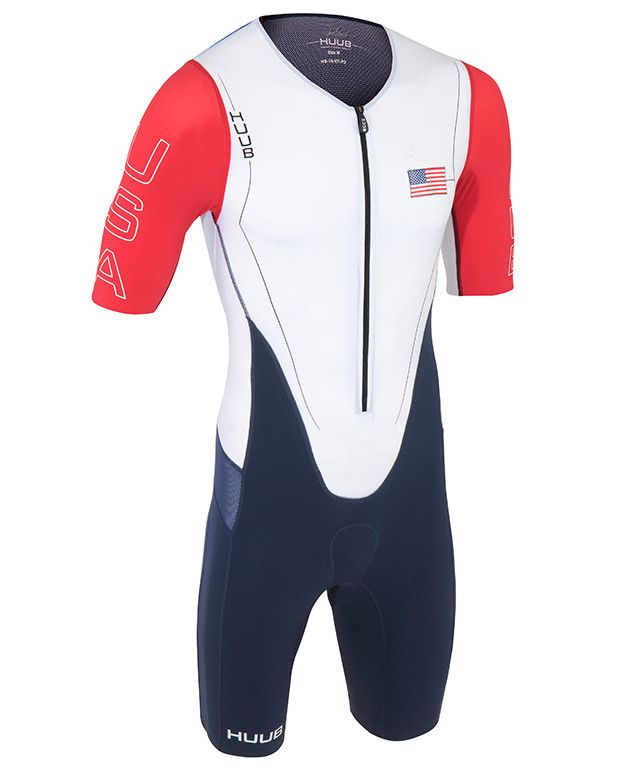 b0249b29982 HUUB DS Long Course Patriot USA Triathlon Suit from HUUB Design