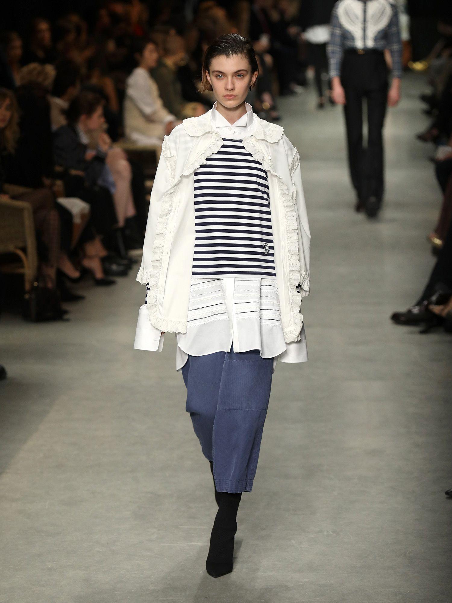 Burberry: February Collection da grife é inspirada na arte de Henry Moore - Vogue | Desfiles