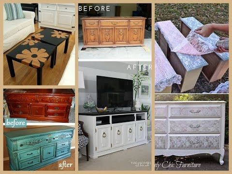 DIY Furniture Makeovers Ideas - Home Decor Inspiration - YouTube
