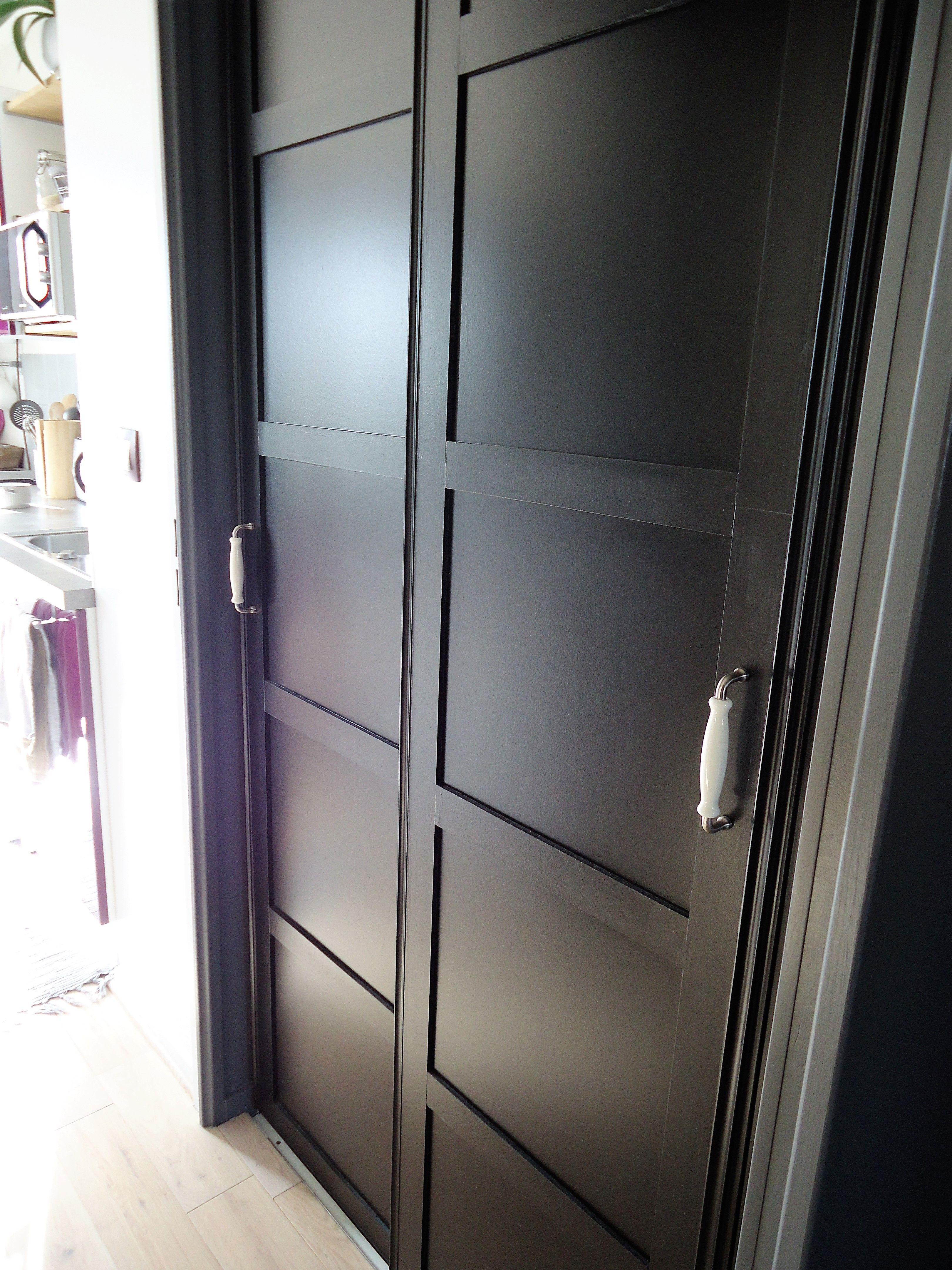 Tapisser Porte De Placard un nouveau style pour mes portes de placard | doors in 2019