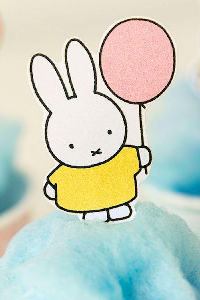 Miffy Bunny Birthday Party With Free Printables Kids Birthday