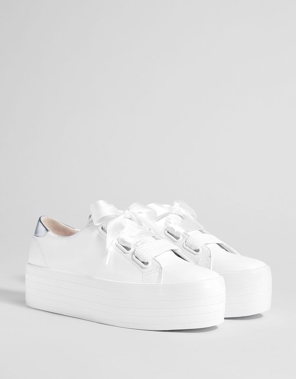 zapatillas nike blancas con plataforma
