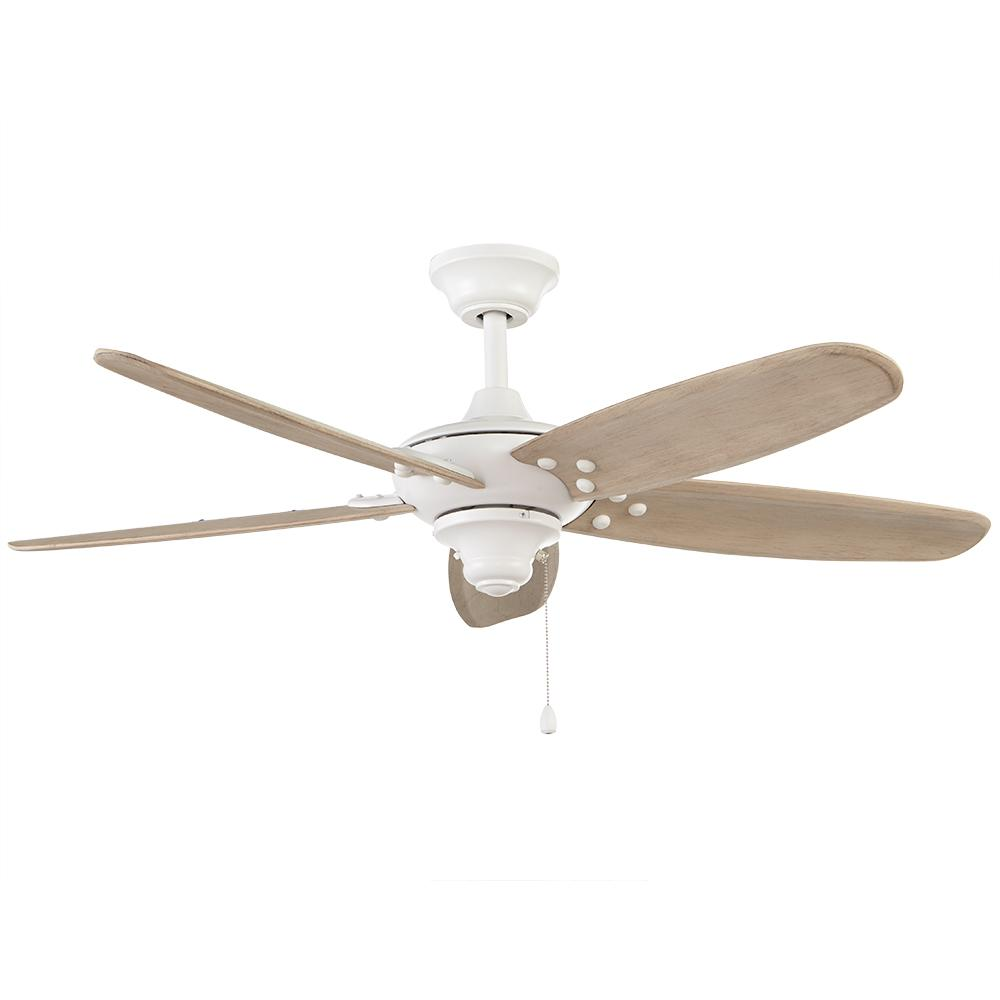 Home Decorators Collection Altura 48 In Indoor Outdoor Matte White Ceiling Fan 51746 The Home Depot White Ceiling Fan Bronze Ceiling Fan Ceiling Fan