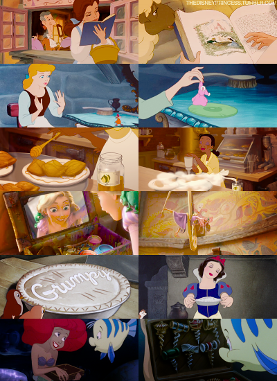 Princesses and their hobbies