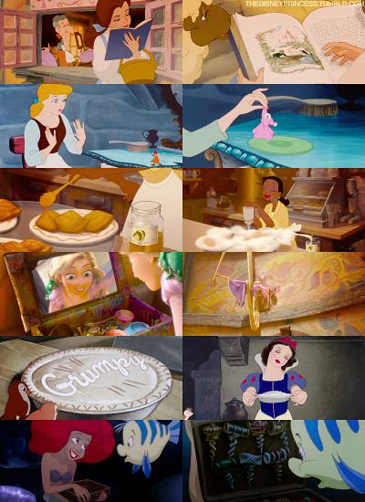 Princesses and their hobbies