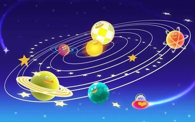 Cute Solar System wallpaper Digitalart Pinterest