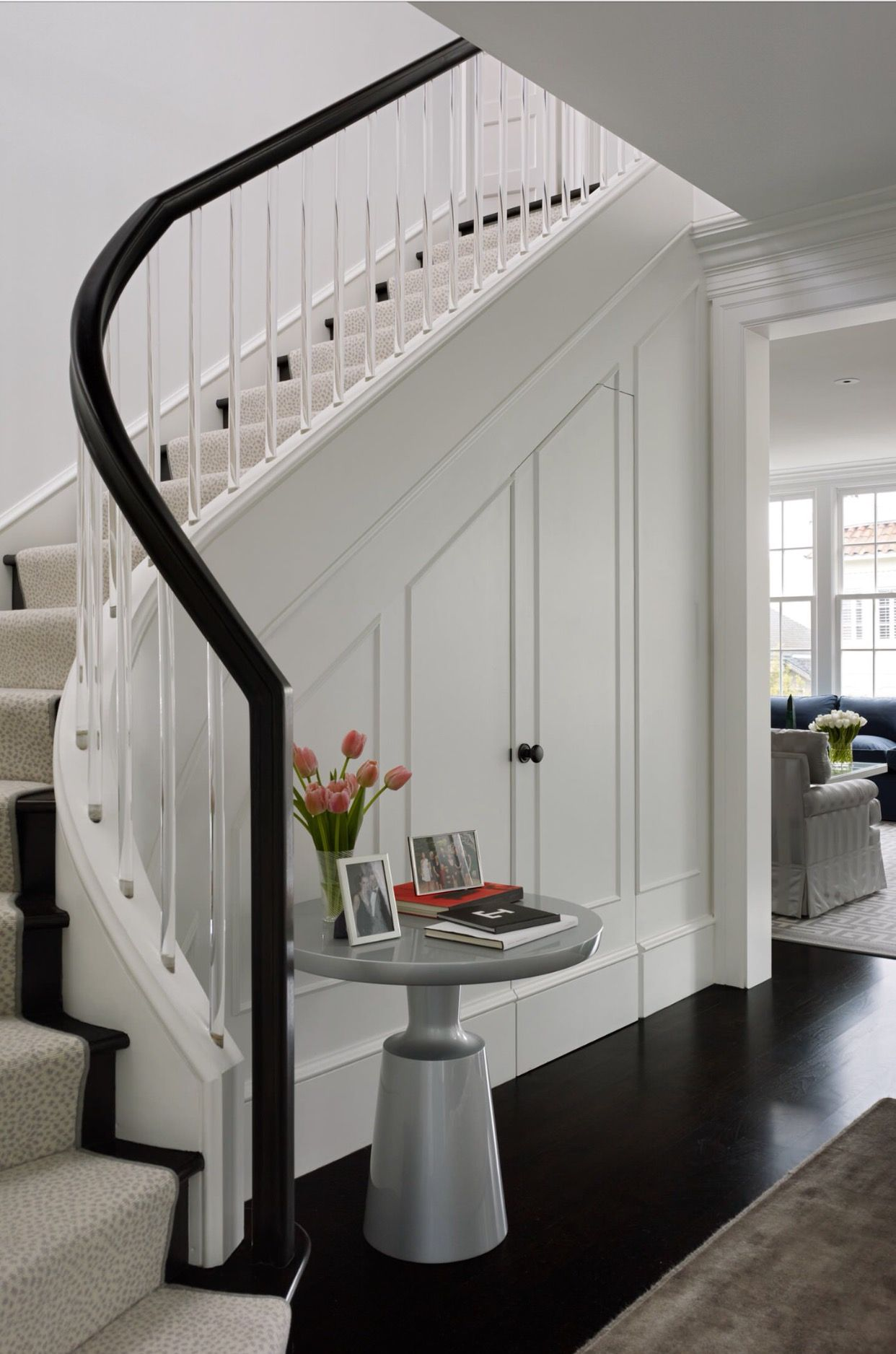 Best Storage Under The Stairs Staircase Design Transitional 400 x 300