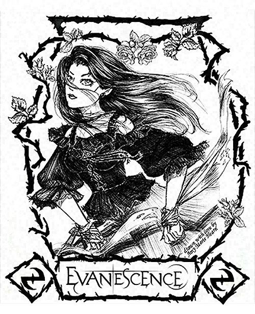 Amy Lee: Evanescence by Elfmaid on DeviantArt