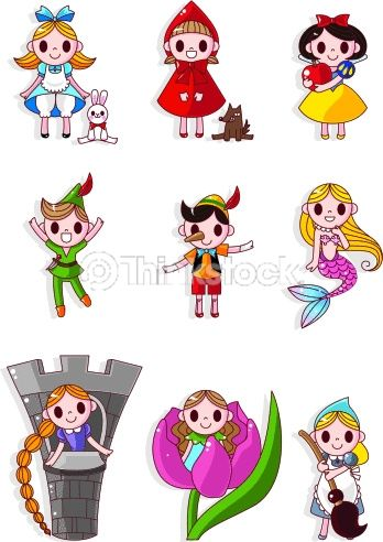 Cute Fairy Tales Characters Fairy Tale Characters