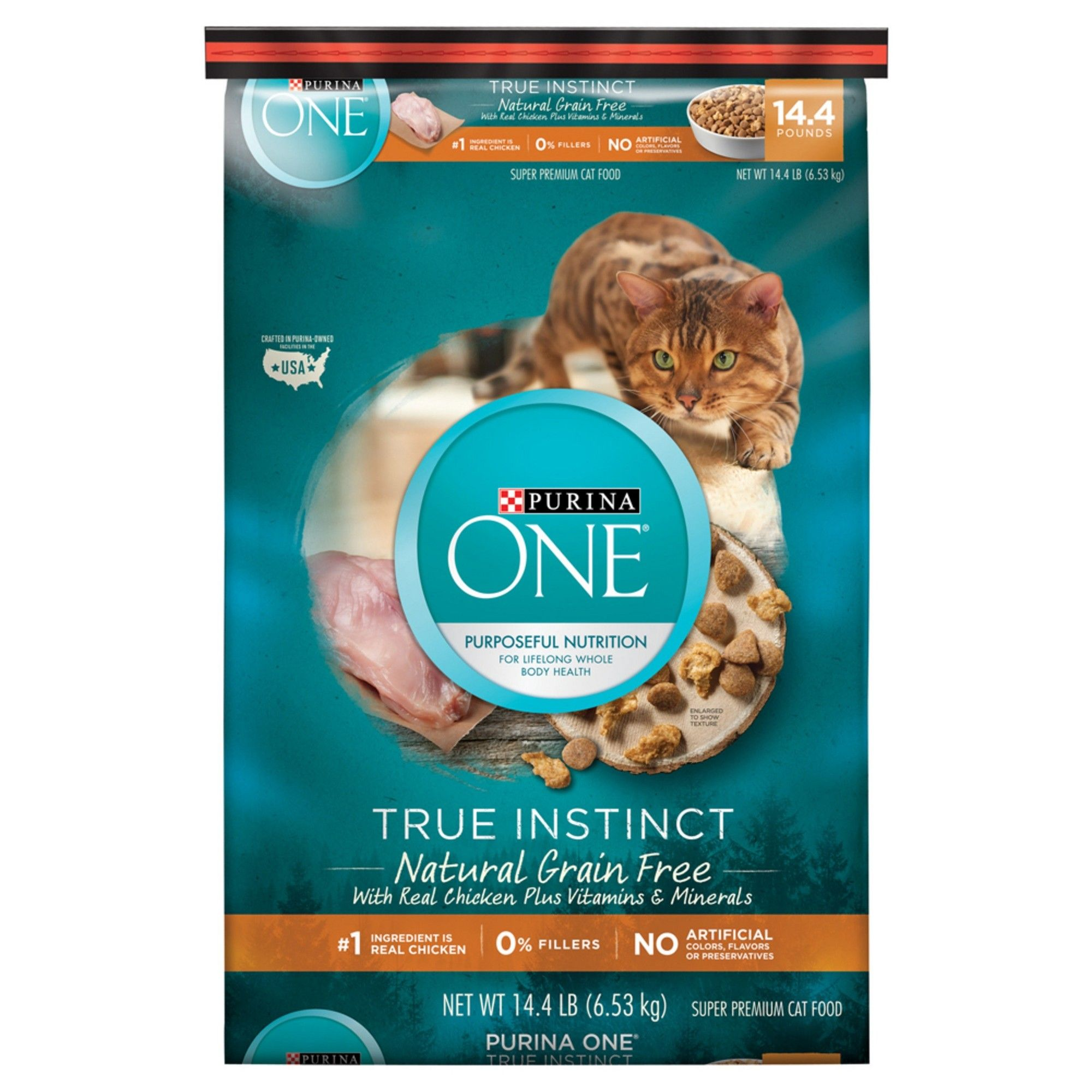 Purina e True Instinct Natural Grain Free With Real Chicken Dry