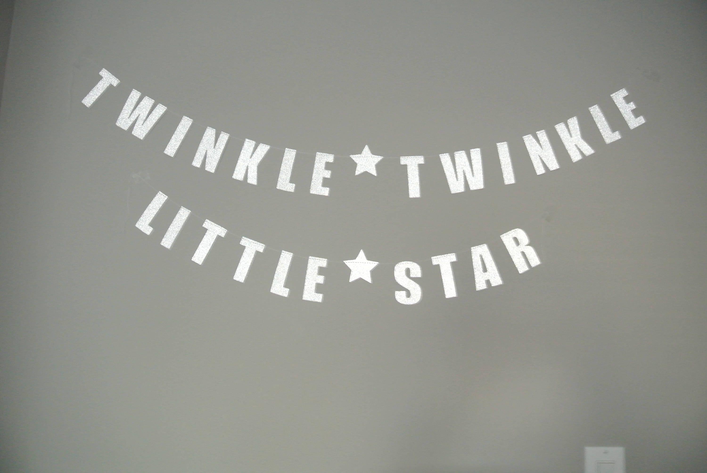 Twinkle Twinkle Little Star Gender Reveal Baby Shower Decor By Paper Rabbit Star Straws Twinkle Twinkle Little Star Baby Shower Decor