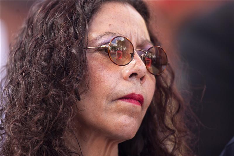 Rosario Murillo rinde homenaje a Rubén Darío… con faltas ortográficas