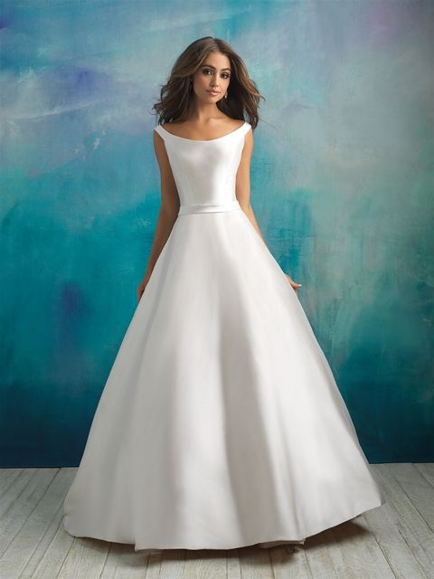 Allure Bridals 9524 in diamond white, sample size 16 | Manchester ...