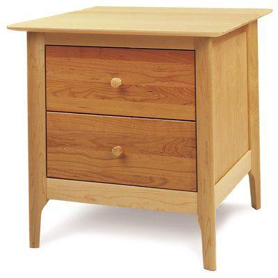 Copeland Furniture Sarah 2 Drawer Nightstand Furniture 2 Drawer