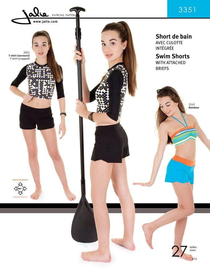 Jalie 3351 Swim Shorts