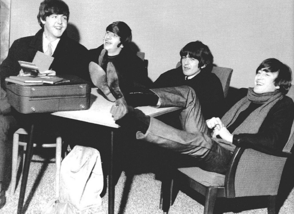 2nd November 1964 The Beatles Backstage At The King S
