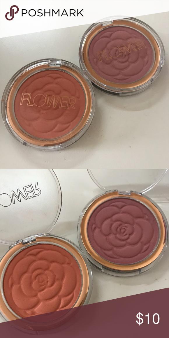 Flower beauty blush duo peach primrose & sweat pea Used